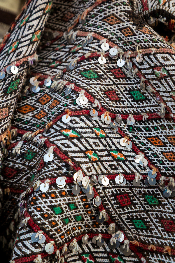 Essaouira, Morocco.  Fabric for Sale.
