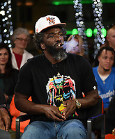 "MIAMI BEACH, FL - JANUARY 28: Ed Reed discusses Fox Sports ""The ReUnion"" at the Fox Sports South Beach studio during Super Bowl LIV week on January 29, 2020 in Miami Beach, Florida. (Photo by Frank Micelotta/Fox Sports/PictureGroup)"