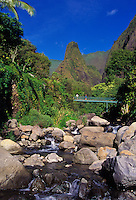 Iao Valley, part of the ancient caldera of the West Maui Mountains, is one of the most historical and sacred spots in Hawaii.