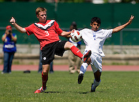 Honduras U-17 Men vs Canada, February 19, 2011