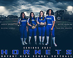 Bryant High School Softball Banner shoot 1.23.21