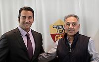 20121218 ROMA-CALCIO: ITALO ZANZI, NUOVO CEO DELLA ROMA