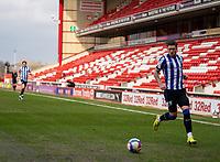 20th March 2021, Oakwell Stadium, Barnsley, Yorkshire, England; English Football League Championship Football, Barnsley FC versus Sheffield Wednesday; Josh Windass of Sheffield Wednesday running down the left wing
