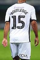 Viola branding on show during the Carabao Cup Second Round match between Swansea City and Cambridge United at the Liberty Stadium in Swansea, Wales, UK. Wednesday 28, August 2019.