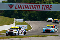 #12 eEuroparts.com ROWE Racing Audi RS3 LMS TCR DSG, TCR: Russell McDonough, Ryan Nash