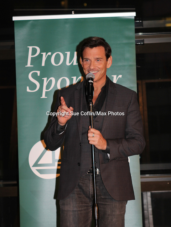 Guiding Light's Sean McDermott - The 29th Annual Jane Elissa Extravaganza which benefits The Jane Elissa Charitable Fund for Leukemia & Lymphoma Cancer, Broadway Cares and other charities on November 14, 2016 at the New York Marriott Hotel, New York City presented by Bridgehampton National Bank and Walgreens.  The event is a Cabaret with singer Sean McDermott (Guiding Light) (Photo by Sue Coflin/Max Photos)