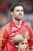Spain's national team Xabi Alonso during match. October 16, 2012. (ALTERPHOTOS/Alvaro Hernandez) /NORTEPhoto