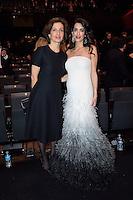 Audrey AZOULAY - Amal CLOONEY - 42eme ceremonie des CESAR - 24 fevrier 2017 - salle Pleyel - Paris - France