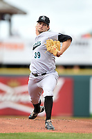 Jupiter Hammerheads pitcher Trevor Williams (39) delivers a pitch during a game against the Bradenton Marauders on April 19, 2014 at McKechnie Field in Bradenton, Florida.  Bradenton defeated Jupiter 4-0.  (Mike Janes/Four Seam Images)