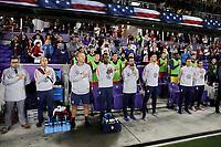 ORLANDO, FL - NOVEMBER 15: USMNT bench during a game between Canada and USMNT at Exploria Stadium on November 15, 2019 in Orlando, Florida.