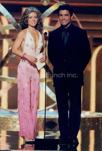 Kelly Rippa and husband Mark Consuelos 2000<br /> Photo By John Barrett-PHOTOlink.net / MediaPunch