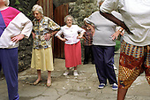Tai Chi class at the Third Age Project in West Euston.