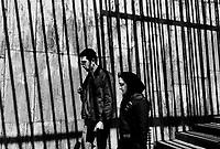 Teheran, Iran, March 31, 2007.In an underpass under Azadi boulevard's mad traffic..