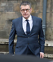 JACK VETTRIANO LEAVES KIRKCALDY SHERIFF AFTER PLEADING GUILTY TO DRIVING WITH TWICE THE LEGAL ALCOHOL LEVEL AND BEING IN THE POSSESSION OF A CONTROLLED SUBSTANCE (AMPHETAMINE).
