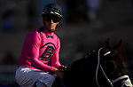 AUGUST 28, 2021:  Florent Geroux at Del Mar Fairgrounds in Del Mar, California on August 28, 2021. Evers/Eclipse Sportswire/CSM