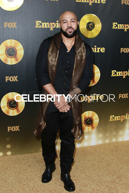 HOLLYWOOD, LOS ANGELES, CA, USA - JANUARY 06:  Jim Beanz at the Los Angeles Premiere Of FOX's 'Empire' held at ArcLight Cinemas Cinerama Dome on January 6, 2015 in Hollywood, Los Angeles, California, United States. (Photo by David Acosta/Celebrity Monitor)