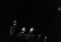 L'Execution, le récit d'un meurtre commis par des eleves dans un college prive. <br /> <br /> La piece, ecrite par Marie-Claire Blais en 1967, est montee au Theatre du Rideau Vert de Montreal en mars 1968 (date exacte inconnue).<br /> <br /> PHOTO : Alain Renaud - Agence Quebec Presse<br /> <br /> Les images commandées seront recadrées lorsque requis