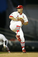 April 14, 2009:  Pitcher Ryan Kulik (26) of the Palm Beach Cardinals, Florida State League Class-A affiliate of the St. Louis Cardinals, delivers a pitch during a game at Roger Dean Stadium in Jupiter, FL.  Photo by:  Mike Janes/Four Seam Images