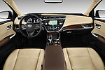 Straight dashboard view of a 2013 Toyota Avalon Sedan Limited