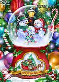 Randy, CHRISTMAS SANTA, SNOWMAN, WEIHNACHTSMÄNNER, SCHNEEMÄNNER, PAPÁ NOEL, MUÑECOS DE NIEVE, paintings+++++,USRW358,#x# ,puzzle,puzzels