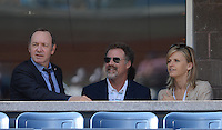 FLUSHING NY- SEPTEMBER 9: Kevin Spacey, Will Farrell and his wife are sighted watching Novak Djokovic Vs David Ferrer in the mens semi finals on Arthur Ashe Stadium at the USTA Billie Jean King National Tennis Center on September 9, 2012 in in Flushing Queens. Credit: mpi04/MediaPunch Inc. ***NO NY NEWSPAPERS*** /NortePhoto.com<br /> <br /> **CREDITO*OBLIGATORIO** *No*Venta*A*Terceros*<br /> *No*Sale*So*third*...