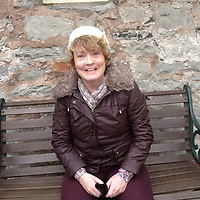 Pictured: Sharn Hughes<br /> Re: Sharn Hughes died after being hit by a car while going to take pictures at Gwrych Castle in Conwy county, in north Wales, UK.<br /> Hughes, 58, died on Abergele Road, Llanddulas, near the castle, the location of TV show, I'm a Celebrity.<br /> The family said other people might also plan to take photos there.
