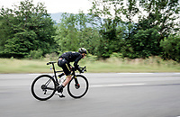 Jack Haig (AUS/Mitchelton-Scott) speeding down<br /> <br /> Stage 6: Saint-Vulbas to Saint-Michel-de-Maurienne (228km)<br /> 71st Critérium du Dauphiné 2019 (2.UWT)<br /> <br /> ©kramon