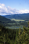 Kawuneeche Valley, Farview Curve, Rocky Mountain National Park, Colorado, USA