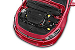 Car Stock 2015 Dodge Dart SE 4 Door Sedan Engine high angle detail view