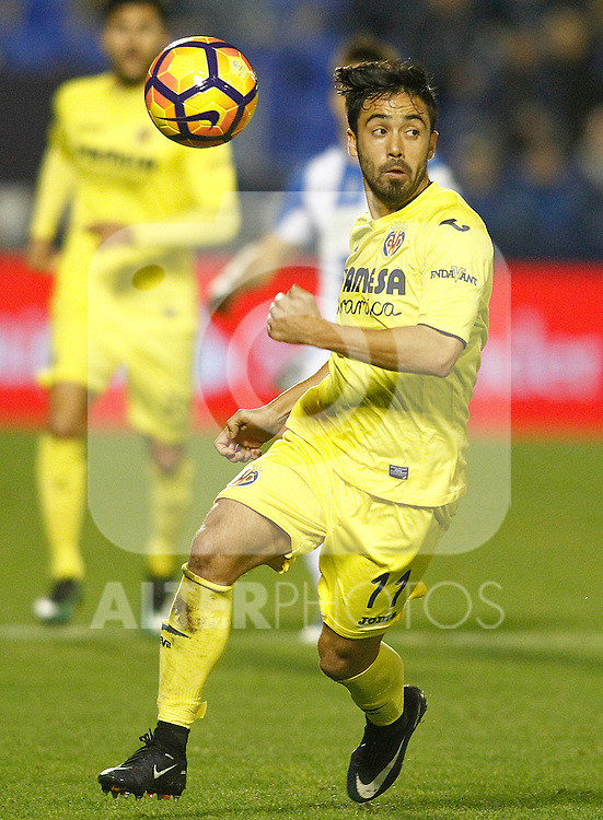 Villarreal CF's Jaume Costa during La Liga match. December 3,2016. (ALTERPHOTOS/Acero)