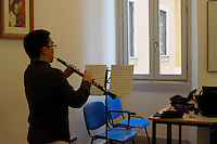 RomeSmarts - Rome Summer Musical Arts..Toyich International Projects in collaboration with the University of Toronto, Canada. Eric Chow  plays oboe.