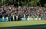 FK Trakai v St Johnstone…06.07.17… Europa League 1st Qualifying Round 2nd Leg, Vilnius, Lithuania.<br />FK Trakai celebrate at ful time<br />Picture by Graeme Hart.<br />Copyright Perthshire Picture Agency<br />Tel: 01738 623350  Mobile: 07990 594431