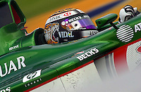 Eddie Irvine (#18 Jaguar)