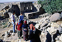 Turkey 1997 .In Midin, more and more neglected houses because of the owners immigrating to Europe.Turquie 1997.A Midin, de plus en plus de maisons abandonnees suite au depart des proprietaires pour l'Europe