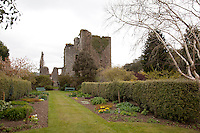 Ruins of Castle Kennedy, focal point of the eighteenth century formal garden