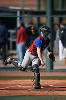 Kyle Avellino during the Under Armour All-America Tournament powered by Baseball Factory on January 18, 2020 at Sloan Park in Mesa, Arizona.  (Zachary Lucy/Four Seam Images)