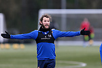 St Johnstone Training...   29.01.21<br />Stevie May pictured during a training session at McDiarmid Park this morning ahead of tomorrows game at Kilmarnock.<br />Picture by Graeme Hart.<br />Copyright Perthshire Picture Agency<br />Tel: 01738 623350  Mobile: 07990 594431