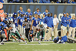 The Tulane Green Wave take on the Memphis Tigers and fall, 37-23, in a game played at Liberty Bowl Memorial Stadium in Memphis, TN.