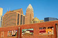 Public art murals in downtown / uptown/ Center City Charlotte, NC