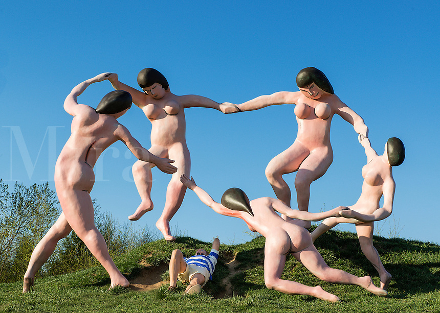 """""""Daydream"""", Grounds for Sculpture, Hamilton, New Jersey, USA"""