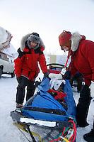 Sunday February 27, 2010    Junior Iditarod at Willow Lake, Alaska