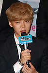 Lu-Han(EXO), Aug 11, 2014 : LuHan of South Korean-Chinese K-Pop idol boy band EXO, attends a presentation for their new show on Mnet, 'EXO 90:2014', at CJ E&M Center in Seoul, South Korea.  (Photo by Lee Jae-Won/AFLO) (SOUTH KOREA)
