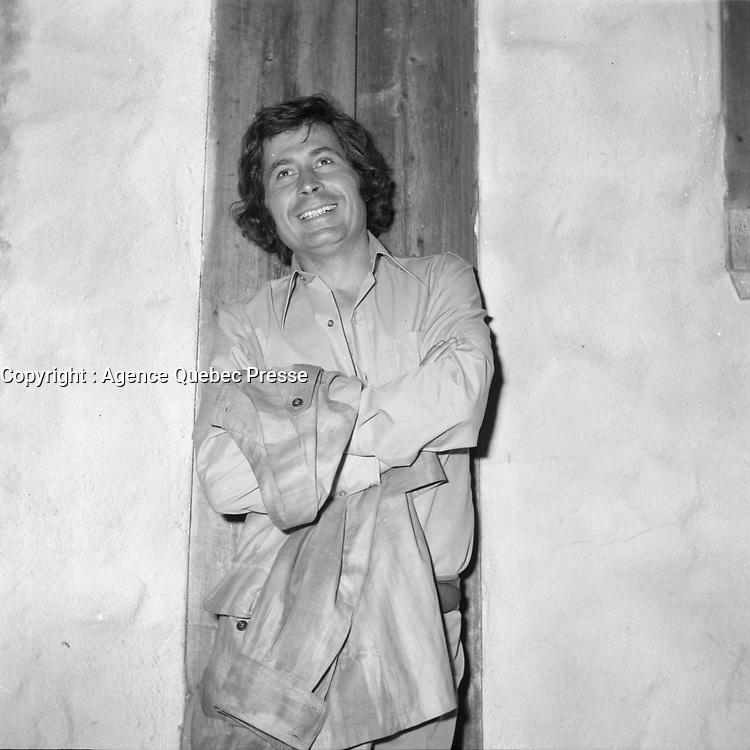 L'acteur Donald Pilon<br /> <br />  (date inconnue, avant 1984),<br /> <br /> Photo : Agence Quebec Presse - Roland Lachance