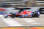 Marco Andretti (25) driver for Andretti Autosport in action during qualifying for the IZOD Indycar Firestone 550 race at Texas Motor Speedway in Fort Worth,Texas.