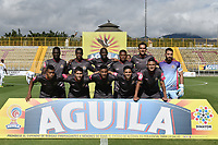BOGOTÁ -COLOMBIA, 09-07-2017: Jugadores de Tigres posan para una foto previo al encuentro entre Tigres FC y Once Caldas por la fecha 1 de la Liga Águila II 2017 jugado en el estadio Metropolitano de Techo de la ciudad de Bogotá. / Players of Tigres pose to a photo prior the match between Tigres FC and Once Caldas for the date 1 of the Aguila League II 2017 played at Metropolitano de Techo stadium in Bogotá city. Photo: VizzorImage/ Gabriel Aponte / Staff
