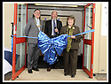 06/04/2009  Copyright Pic: James Stewart.File Name : 09_action_outdoors.THE NEW ACTION OUTDOORS CENTRE, REDDING ROAD, BRIGHTONS, FALKIRK : CATHY PEATTIE MSP, IS WATCHED BY  FALKIRK COUNCIL PROVOST PAT REID, AND ROGER HANBURY, CHEIF EXECUTIVE OF THE WATERWAYS TRUST, AS SHE OFFICIALLY OPENS THE NEW ACTION OUTDOORS CENTRE.....James Stewart Photography 19 Carronlea Drive, Falkirk. FK2 8DN      Vat Reg No. 607 6932 25.Telephone      : +44 (0)1324 570291 .Mobile              : +44 (0)7721 416997.E-mail  :  jim@jspa.co.uk.If you require further information then contact Jim Stewart on any of the numbers above.........