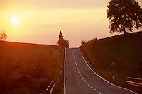 - country road in province of Pisa ....- strada di campagna in provincia di Pisa