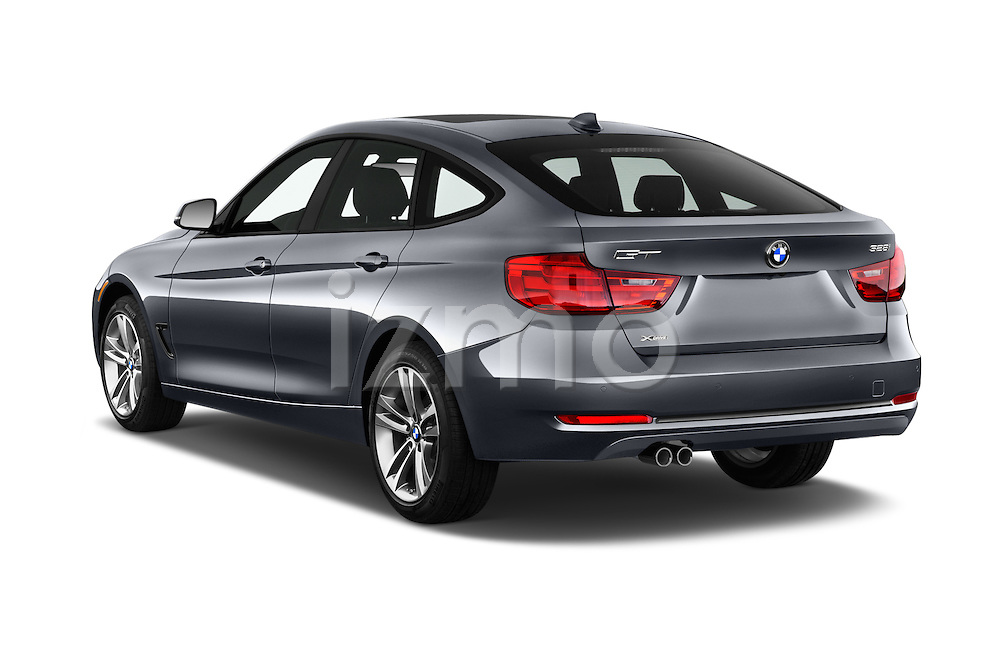 Car pictures of rear three quarter view of 2016 BMW 3 Series 328i 5 Door Hatchback Angular Rear