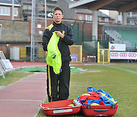 Russia U19 - Belgium U19 : Celine Verdonck.foto DAVID CATRY / Nikonpro.be