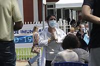 Campinas (SP), 03/03/2021 - Vacina Covid-19 - A Prefeitura de Campinas (SP) confirmou que suspendeu temporariamente os agendamentos para vacinacao em idosos e aguarda a chegada de novas doses para reabrir o cadastro novamente. Nesta quarta-feira (3) a cidade comecou a vacinar contra a covid-19 idosos entre 77 e 79 anos. Movimentacao de idosos na Casa da Crianca Paralitica. (Foto: Denny Cesare/Codigo 19/Codigo 19)